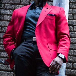 enzo custom suits blazers nwot custom enzo red sports coat